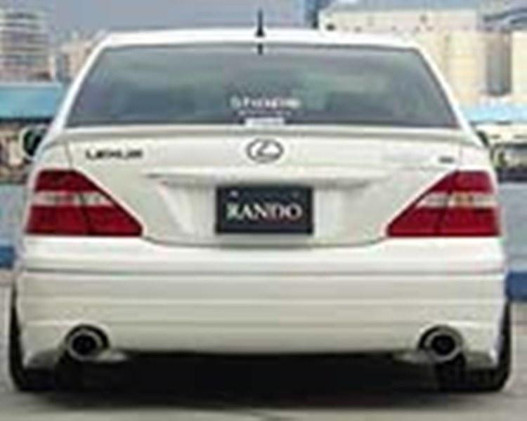 乱人 セルシオ 30系 後期 リアハーフスポイラー 未塗装 RANDO RANDO Style
