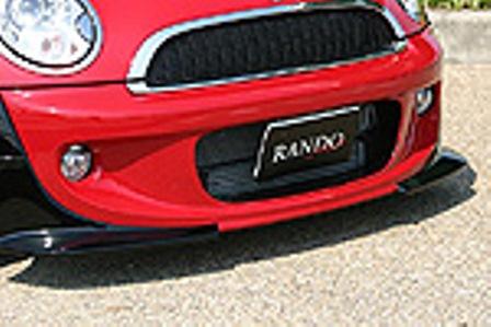 乱人 ミニ R56 フロントバンパー 未塗装 RANDO RANDO Style