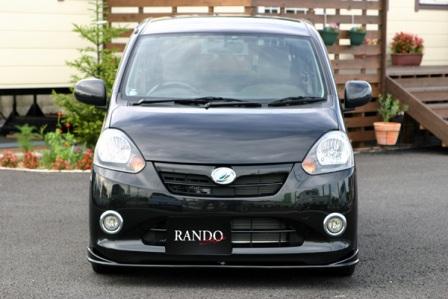 乱人 ミライース フロントハーフスポイラー 未塗装 RANDO RANDO Style