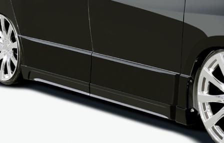 ROJAM ロジャム アルファード ANH20W系 GGH20W系 前期 S/X/Gグレード サイドステップモール 未塗装