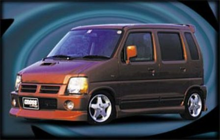 テイクオフ ワゴンRワイド フロントリップスポイラー FRP 最安値 配送先条件有り 市場 クロス OFF TAKE