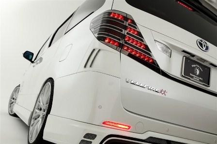 ROWEN ロウェン ヴェルファイア GGH ANH ATH20 後期 Z/ZR リヤコーナーパネル 単色塗装済 プレミアムエディション PREMIUM Edition1T002D00# トミーカイラ