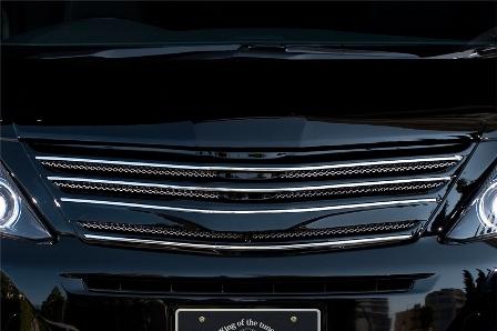 ROWEN ロウェン アルファード GGH ANH ATH20 後期 S/SR フロントグリル モニターなし 単色塗装済 プレミアムエディション PREMIUM Edition1T003C20# トミーカイラ