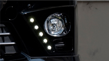 ROWEN ロウェン アルファード GGH ANH ATH20 後期 S/SR フォグカバー With LED 未塗装 プレミアムエディション PREMIUM Edition1T003F20 トミーカイラ