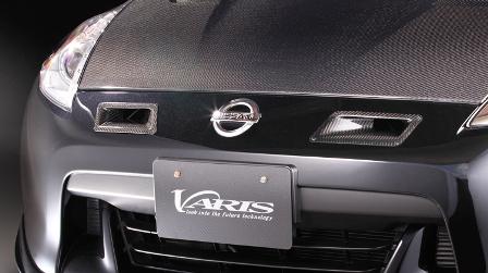 VARIS バリス フェアレディZ Z34 エアインテークダクト カーボン VANI-034