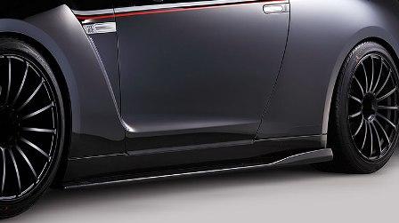VARIS バリス スカイライン R35 GT-R サイドディフューザー VSDCカーボン製法 VANI-037