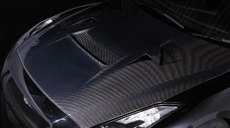 VARIS バリス スカイライン R35 GT-R クーリングボンネット VSDCカーボン製法 アウター+インナー:オールカーボン製 VBNI-113