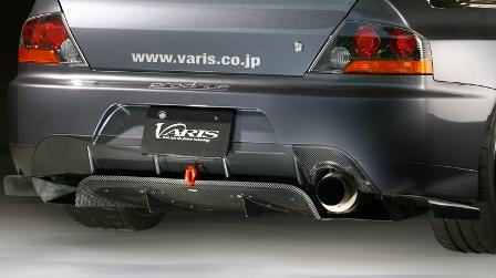VARIS バリス ランサーエボリューション9 ランエボ9 MR リアディフューザー Ver2 ハーフカーボン VAMI-098