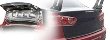 VARIS バリス ランサーエボリューション10 ランエボX CZ4A ライトウエイトトランクフード カーボン VTMI-205