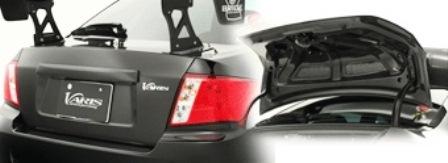 VARIS バリス インプレッサ GVB STi ライトウエイトトランクフード VSDCカーボン VTSU-206
