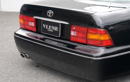 VLENE ブレーン EXISTENCE エグジスタンス リアバンパースポイラー 未塗装 セルシオ UCF20 21 MC前期