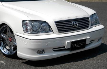 VLENE ブレーン EXISTENCE エグジスタンス フロントバンパースポイラー 未塗装 クラウン JZS17