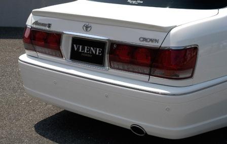 VLENE ブレーン EXISTENCE エグジスタンス リアバンパースポイラー 未塗装 クラウン JZS17