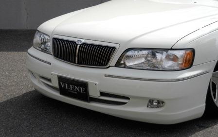 VLENE ブレーン EXISTENCE エグジスタンス フロントバンパースポイラー 未塗装 シーマ Y33