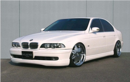 VLENE ブレーン GEELE ジール サイドステップ 未塗装 BMW E39