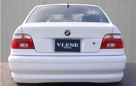 VLENE ブレーン GEELE ジール リアハーフスポイラー 未塗装 BMW E39
