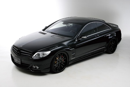 WALD ヴァルド Sports Line Black Bison Edition スポーツラインブラックバイソンエディション 3点キット 未塗装 メルセデス・ベンツ W216