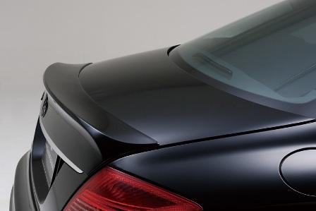 WALD ヴァルド Sports Line Black Bison Edition スポーツラインブラックバイソンエディション トランクスポイラー 未塗装 メルセデス・ベンツ W216