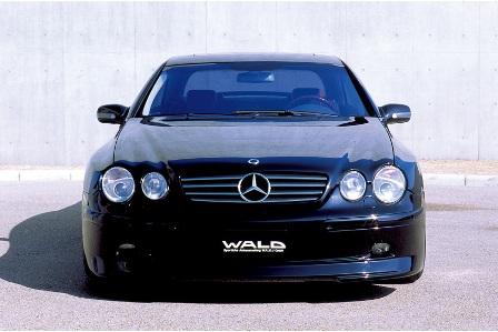 WALD ヴァルド MONSTER MACHINE モンスターマシーン フロントバンパースポイラー 未塗装 メルセデス・ベンツ W215
