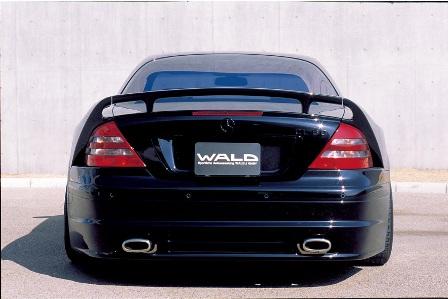 WALD ヴァルド MONSTER MACHINE モンスターマシーン リアバンパースポイラー 未塗装 メルセデス・ベンツ W215