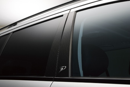 WALD ヴァルド Sports Line Black Bison Edition メルセデス・ベンツ W211 E class ワゴン カーボンピラーパネル