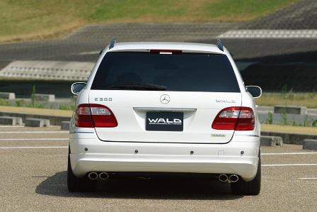 WALD ヴァルド D.T.M Sports ディ・ティ・エムスポーツ センターマフラー メルセデス・ベンツ W211
