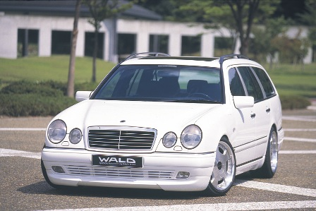 WALD ヴァルド Executive Line メルセデス・ベンツ W210 E class ワゴン カーボンピラーパネル