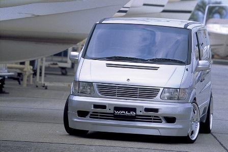 WALD ヴァルド Executive Line 2nd EDITION メルセデス・ベンツ W638 V class 3点キット