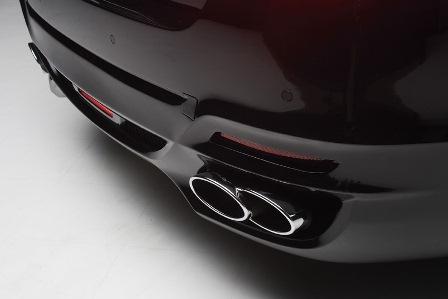 WALD ヴァルド D.T.M Sports BMW F10 5シリーズ マフラーカッター オールステンレス