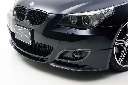 バンパータイプ フロントバンパースポイラー BMW WALD 5シリーズ/ツーリング E61 ヴァルド Line Sports