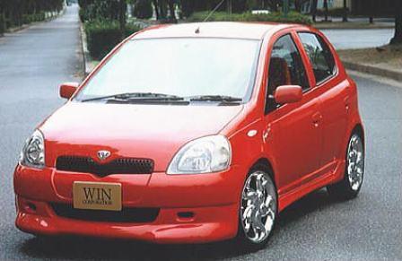 WIN.CORPORATION ウィンコーポレーション フロントスポイラー 未塗装 ヴィッツ SCP10