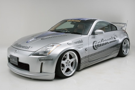 WALD ヴァルド Executive Line フェアレディZ Z33系 前期 3点キット FRP製
