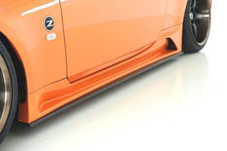 ウェーバースポーツ フェアレディZ Z33 サイドステップ FRP WEBER SPORTS
