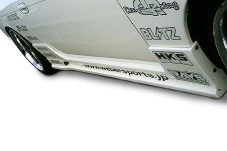 ウェーバースポーツ シルビア S14 後期 サイドステップ FRP WEBER SPORTS