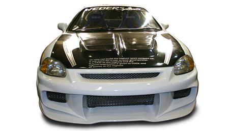 ウェーバースポーツ CR-X 前期後期 DELSOL フロントバンパー FRP WEBER SPORTS