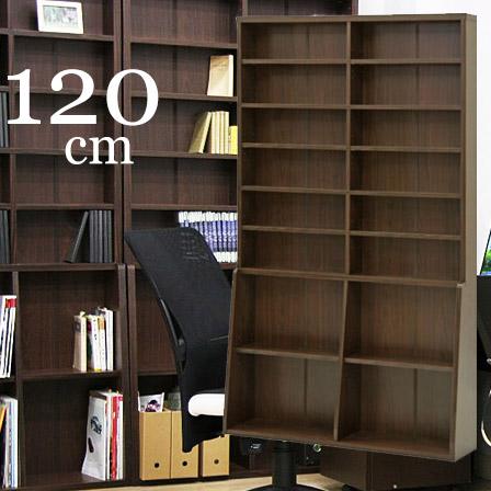 ハイタイプ本棚 幅120cm 可動棚 絵本ラック ナチュラル本棚オシャレ 子供カラーボックス 収納力 大容量 書棚 オシャレ リビング 壁面収納 シェルフ ウォールシェルフ ディスプレイラック リビング ブックシェルフ 薄型 コミック収納 リビング収納 北欧 おしゃれ モダン