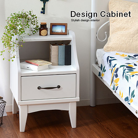 Singlelife rakuten global market cute bedside table nightstand cute bedside table nightstand outlets with outlet night table bed table drawer mini table chair rack watchthetrailerfo