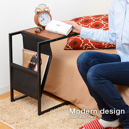 Bed Side Table Nightstand Wood Bedside Mini Cafe Roofer Fashion Black Stylish Modern Simple Natural Style Mid Century Casual Luxury Gadgets