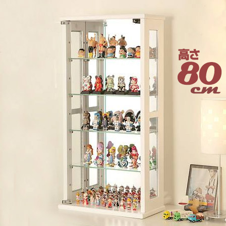 Completed Height 80 Collection Case Collection Rack Display Rack Collection  Board Collection Shelf Cabinet Glass Gundam Model Kits PVC Figure Glass  Glass ...