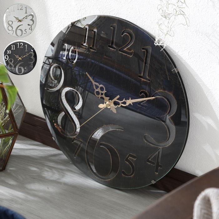 送料無料 おしゃれなアンティーク調掛け時計 ブランド品 文字盤が見やすい直径32cm ドーム 卓抜 ガラス クロック 掛時計 壁掛け時計 円型 丸型 レトロデザイン シャビーウッド風 かわいい おしゃれ モダン アンティークのようなレトロ調壁掛け時計 一人 ケース テレワーク 北欧 アリッサム シンプル 西海岸 木製 オシャレ 人気