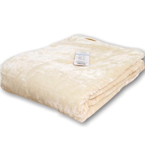 東京西川 シール織りシルク毛布 日本製 軽量タイプキャッシュレス ポイント還元