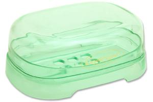 スッキリ キレイな石鹸箱です 明るいクリアタイプふた付き 石鹸箱 売却 ソープディッシュ CL2 定番キャンバス アウトレット
