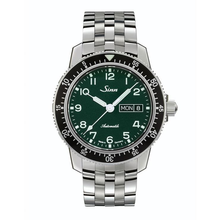 ジン 腕時計 世界限定500本 Sinn 104.ST.SA.A.G 5連ブレスレット仕様 分割払いもOKです