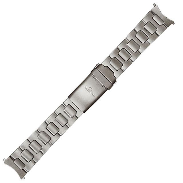 SINN ジン 時計 ベルト バンド ブレスレット EZM1.1 (22mm) 純正ステンレススチール 時計バンド SSテギメント
