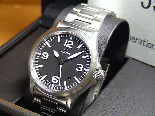 ジン 腕時計 SINN 556.A M優美堂のジン腕時計はメーカー保証2年つきの正規輸入商品です