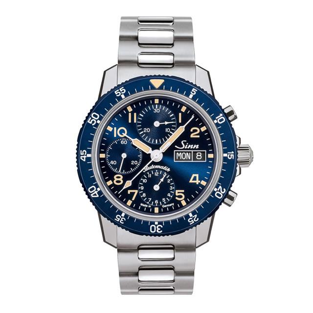 ジン 世界限定 500本 腕時計 Sinn 103 103.SA.B.E 分割払いもOKです クラシックブルーをまとった伝統的なパイロットウォッチ