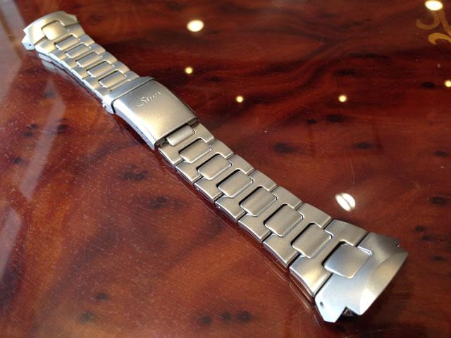【SINN】 【ジン】 時計 ベルト バンド ブレスレット 142.ST.2用 (22mm) 純正ステンレススチール 時計バンド SSマット