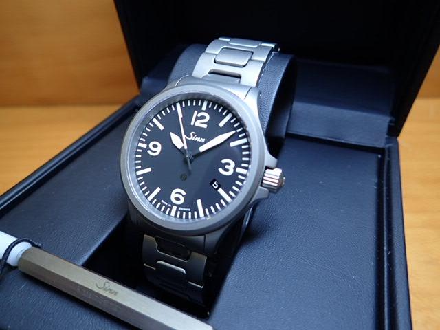 ジン 腕時計 SINN 856.B.M優美堂のジン腕時計はメーカー保証つきの正規輸入商品です