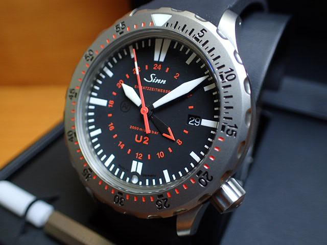 ジン 腕時計 SINN U2