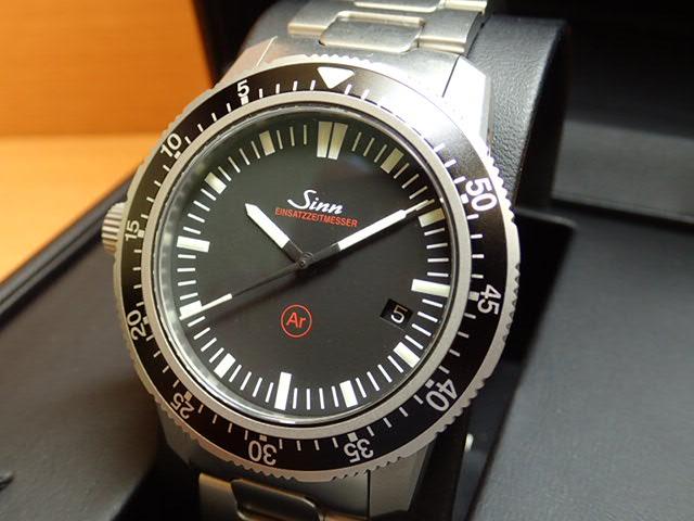 ジン 腕時計 Sinn 703 EZM3 FM